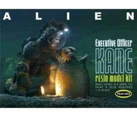 Executive Officer Kane Figure w/Chest-Burster Egg & Base from Alien Movie (Resin)