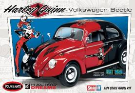 VW Beetle Harley Quinn from Batman Classic (Snap)
