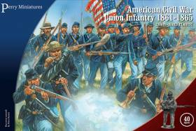 Perry Miniatures American Civil War Union Infantry 1861-65