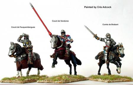 Hundred Years War: French Agincourt Mounted Command