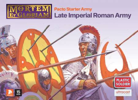 Mortem et Gloriam Late Imperial Roman MeG Pacto Starter Army