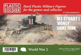 WWII Allied M3 Stuart I Honey Light Tank (3)