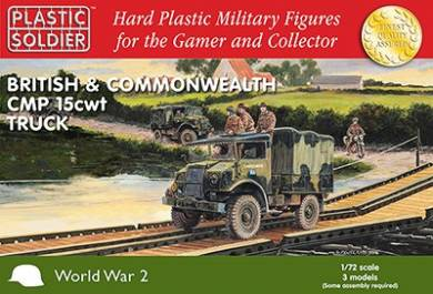 WWII British & Commonwealth CMP 15cwt Trucks (3)