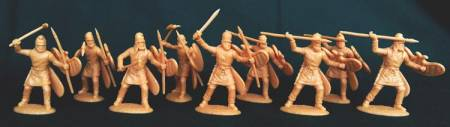 Ancient Persian Kardakes Infantry with Javelin & Axe