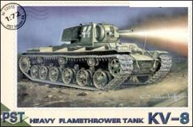 KV-8 Heavy Flame Thrower Tank