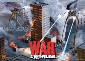 War of the Worlds: Tripods Attack Diorama