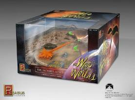 War of the Worlds: War Machines Attack Diorama - Pre-finished