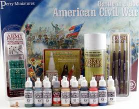 Specially Priced Package to Build, Paint & Play the American Civil War Battle in A Box Set