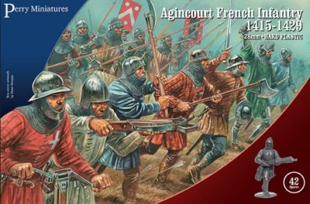 Agincourt French Infantry 1415-1429