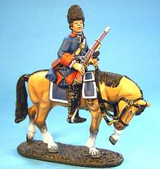 BATTLE ON THE PLAINS OF ABRAHAM 1759 - FRENCH CAVALRY #QFCAV-01 - 1 AVAILABLE OOP