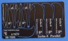 Scibe-R Parallel Panel Scribing Tool w/4 Blades: .33, .5, .75, 1mm