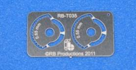 Corner Wheels .55 & 65mm for Rivet-R Mini Tool