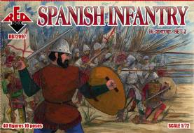 Spanish Infantry Set #2 - 16th Century