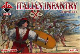 Italian Infantry Set #2 - 16th Century