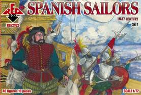 Spanish Sailors XVI-XVII Century