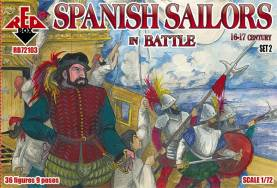 Spanish Sailors in Battle XVI-XVII Century