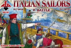 Italian Sailors in Battle XVI-XVII Century