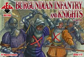 Burgundian Infantry & Knights Set #1 - 15th Century