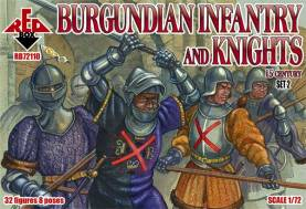 Burgundian Infantry & Knights Set #2 - 15th Century