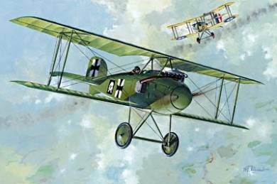 Albatros D I BiPlane Fighter