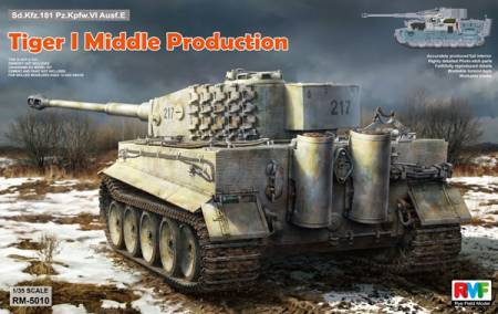 Tiger I PzKpfw VI Ausf E SdKfz 181 Middle Production with Full Interior