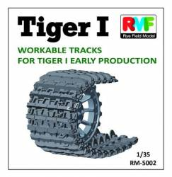 Tiger I (Early) Workable Track Set