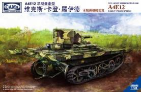 A4E12 VCL Early Production Light Amphibious Tank