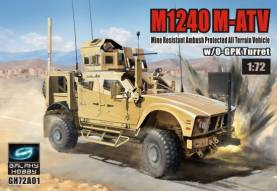 Galaxy Hobby: M1240 M-ATV Mine Resistant Ambush Protected All-Terrain Vehicle w/O-GPK Turret