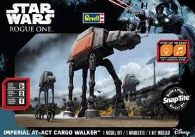 Star Wars Rogue One: Imperial AT-ACT Cargo Walker w/Sound (Build & Play Snap)
