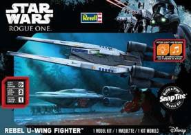 Star Wars Rogue One: Rebel U-Wing Fighter w/Sound (Build & Play Snap)