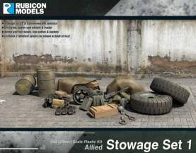 WWII (Allied) Stowage Set 1
