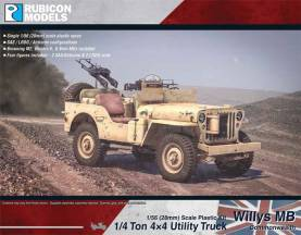 WWII Willys MB 1/4 ton 4x4 Truck (Commonwealth)