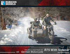 WWII German Motorcycle R75 with Sidecar (ETO)