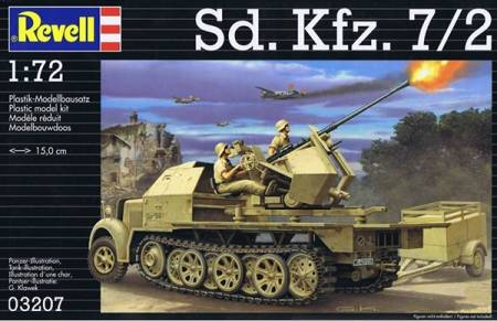 WWII German SdKfz 7/2 Halftrack