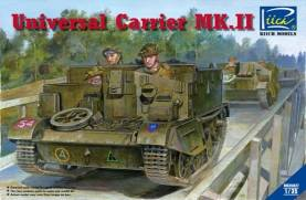 WWII British Universal Carrier Mk II Tank w/Full Interior
