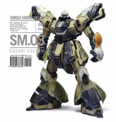 Rinaldi SM Series (Single Model) No.3: Bandai MG Sazabi Neo Zeon Ver. Ka