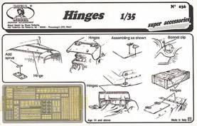 Hinges, various types (Photo-Etch)