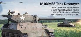 WWII US M10/M36 Tank Destroyer