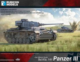 WII German Panzer III Mid War
