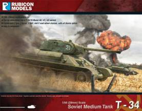 WWII Soviet T34/76 Early & Mid War