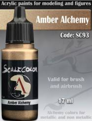 Metal N Alchemy- Amber Alchemy Paint 17ml