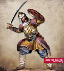 Middle Ages: Saracen Warrior, 13th Century