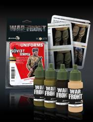 Scale Color Warfront Paint Sets: Soviet Army Set