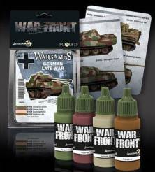Scale Color Warfront Paint Sets: Wargames - German Late War