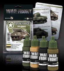 Scale Color Warfront Paint Sets: Wargames - US Army
