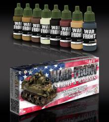 Scale Color Warfront Paint Sets: US Army and Marines