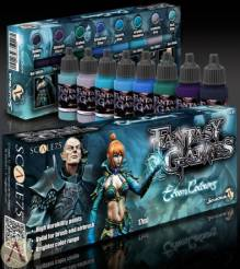Scale Color- Elven Colours Fantasy & Gaming Paint Set