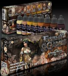 Scale Color-Steamand Punk Fantasy & Gaming Paint Set