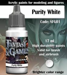 Fantasy and Games- Purity White Paint 17ml