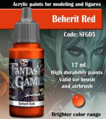 Fantasy and Games- Beherit Red Paint 17ml